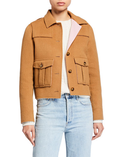Warren Cropped Jacket