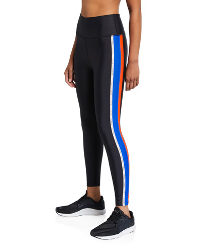 Jump Start Side-Stripe Active Leggings