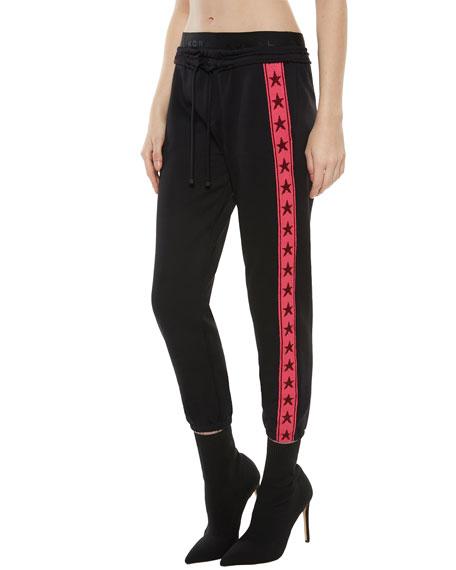 Napo Drawstring Sweatpants with Stars