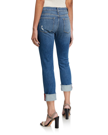 Le Nik Straight-Leg Jeans