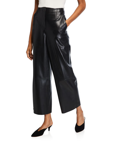 Africa Vegan Leather Pants