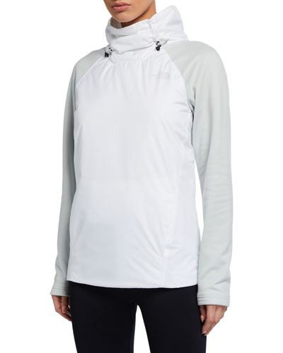 Canyonlands Insulated Hybrid Pullover Jacket  White/Gray
