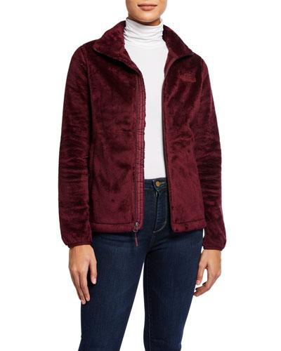 Osito Fleece Zip-Front Jacket