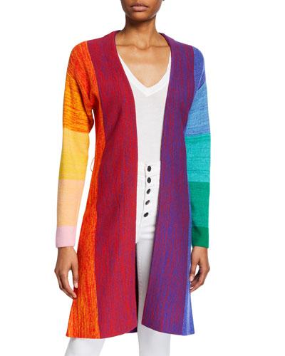 Marketta Belted Long Cardigan