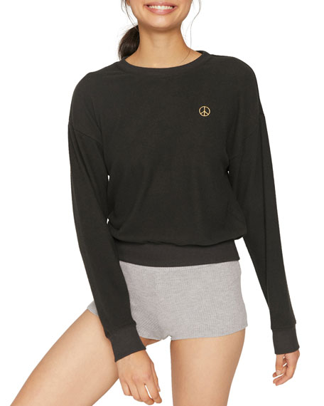 Image 1 of 1: Peace Malibu Crewneck Sweatshirt