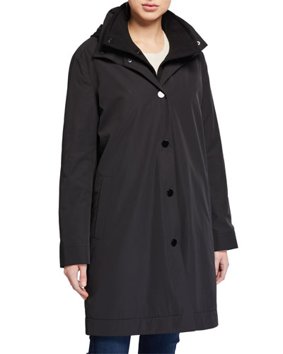 3-in-1 Hooded Double Coat