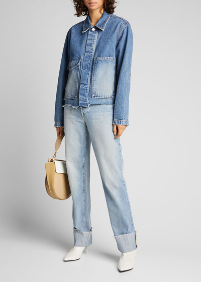 Jane Denim Shirt Jacket