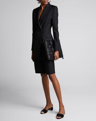 Sienna Longline Wool Jacket