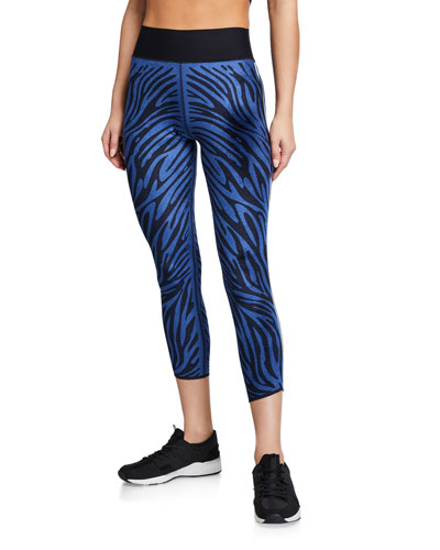 Ultra High Velvet Zebra Leggings