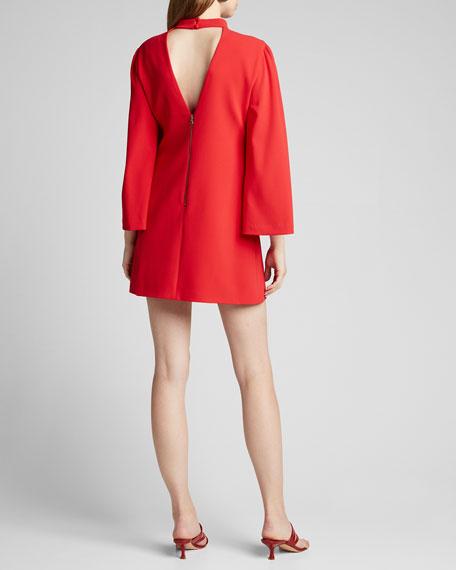 Bailey Bell-Sleeve Dress