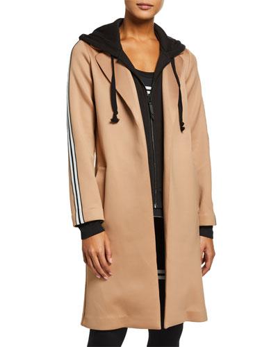 The Nayomi Layered Side-Stripe Jacket