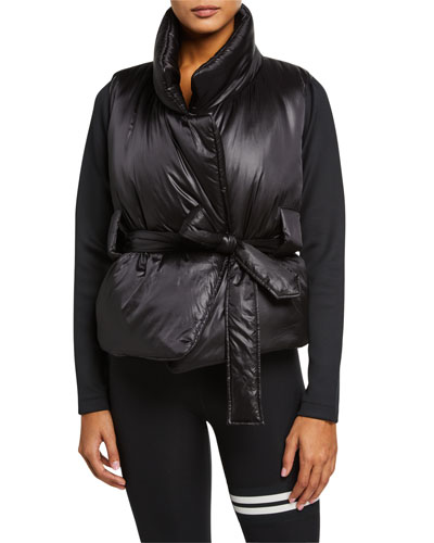Alexis Belted Puffer Jacket
