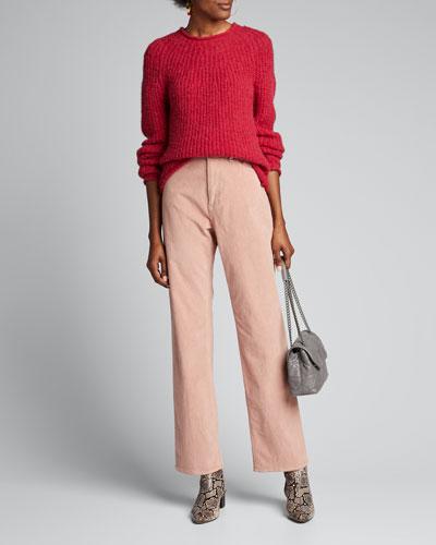 Joseph Crewneck Pullover Sweater