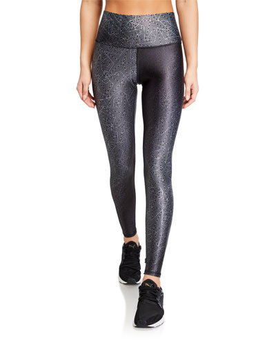 High-Rise Star Leggings