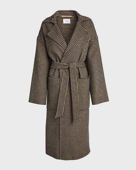 Alamo Belted Long Coat