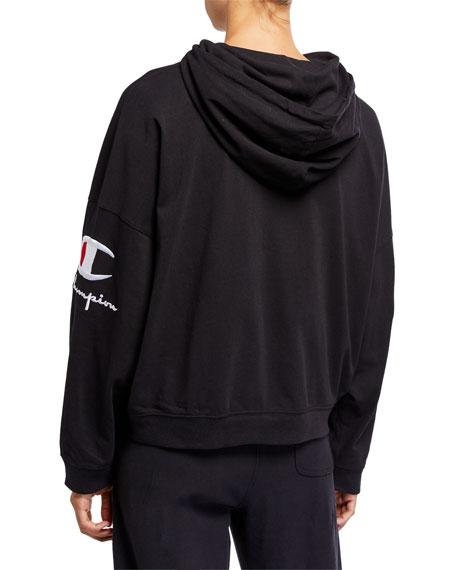 Hooded Logo Pullover Sweatshirt