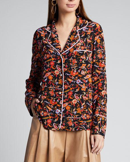 Long-Sleeve Pajama Shirt
