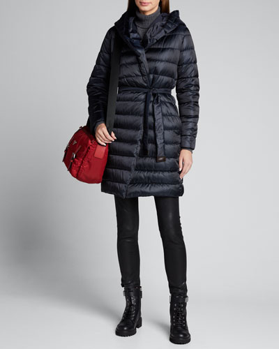 Novef Long Puffer Coat