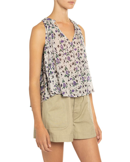 Ryson Printed Sleeveless Top