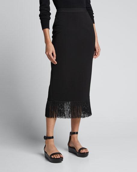 Louise Fringe Midi Skirt