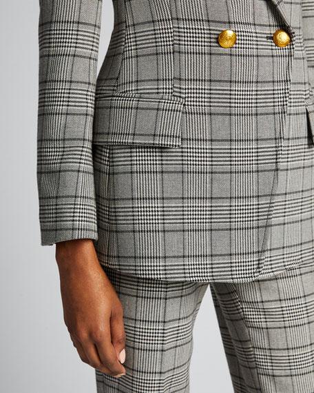 Sedgwick II Double-Breasted Plaid Jacket