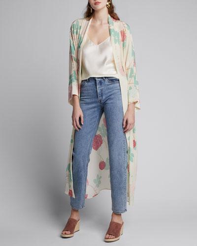 3x1 X Mimi Cuttrell Kirk Ankle Skinny Jeans
