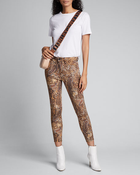 Margot Valencia High-Rise Skinny Ankle Jeans