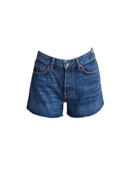 Helena Cutoff Organic Cotton Denim Shorts