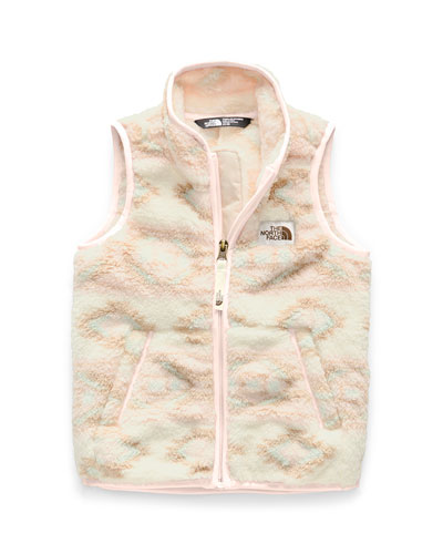 Girl's Campshire Sherpa Fleece Vest  Size 2-4T