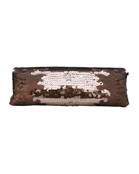 Paillettes Sequin Frame Clutch