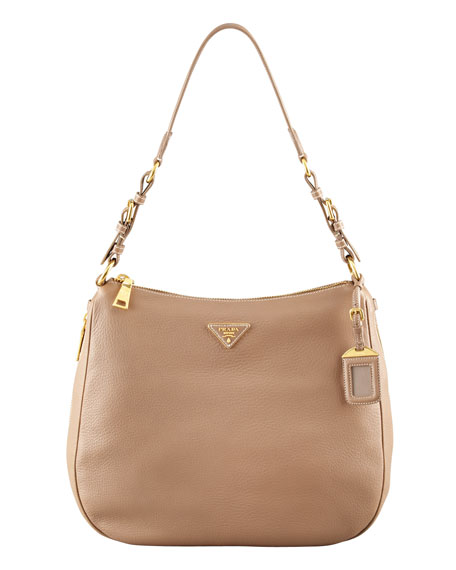 Prada Cervo Hobo Bag
