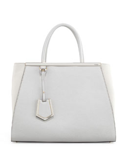 Fendi 2Jours Vitello Elite Tote Bag