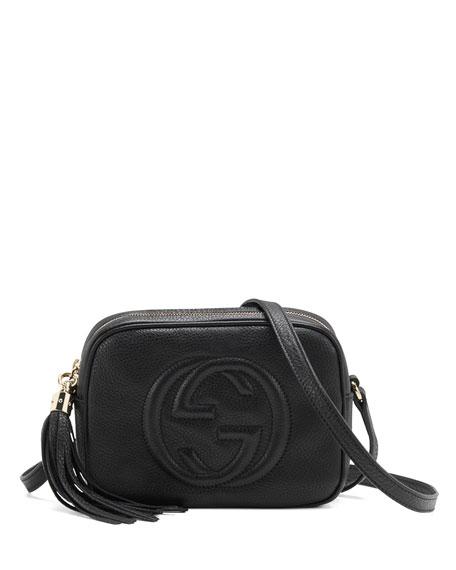 c10cc5cbf8f0 Gucci Soho Leather Disco Bag, Black