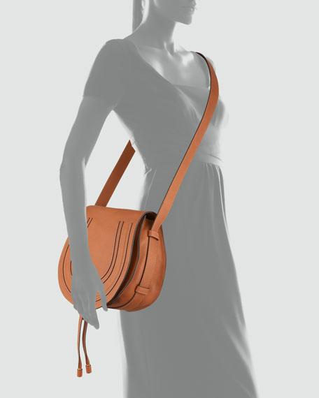 773366aadc7 Chloe Marcie Medium Leather Crossbody Bag, Tan