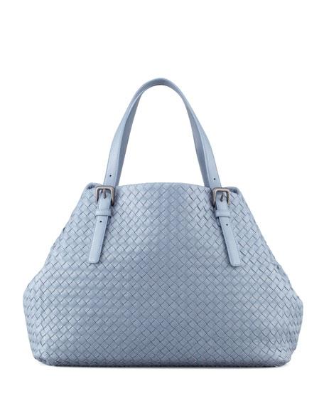 Veneta A-Shape Large Tote Bag, Blue