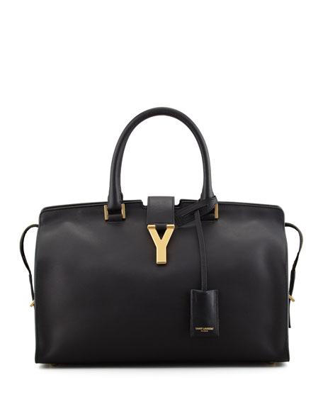 Y Ligne Soft Leather Bag, Black