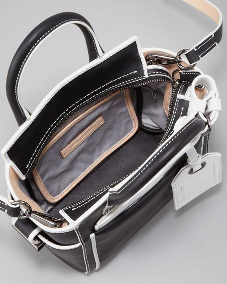 Atlantique Micro Bag, Black/White