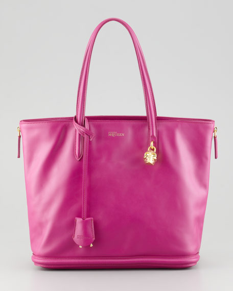 New Padlock Small Shopper Bag, Pink