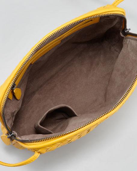 Veneta Small Crossbody Bag,Yellow