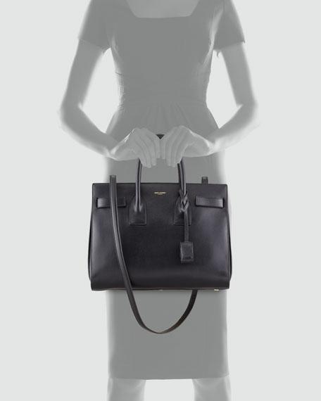 Sac de Jour Satchel Bag, Black