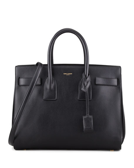 Sac de Jour Satchel Bag, Black
