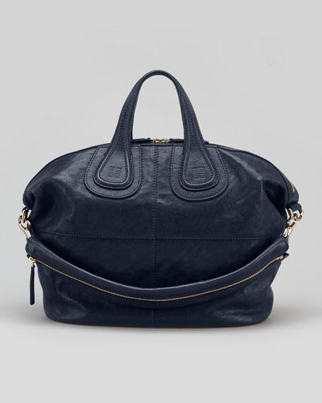 Nightingale Medium Satchel Bag, Navy