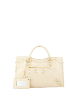 Giant 12 Golden City Bag, Cream