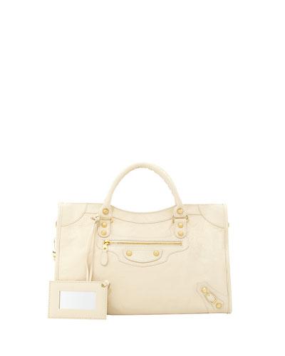 Giant 12 Golden City Bag, Cream