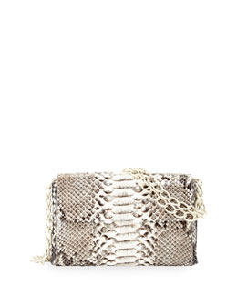 Crocodile/Python Small Chain-Strap Bag