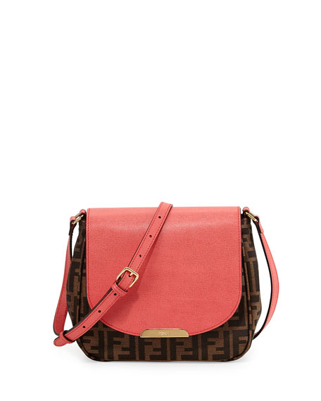 7d7ab38e Zucca Small Crossbody Bag Tobacco/Pink