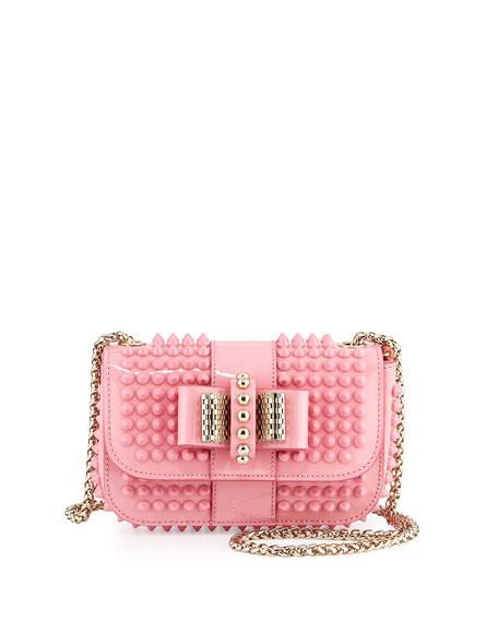 4b3dd13b0bc Sweet Charity Small Spiked Crossbody Bag Light Pink
