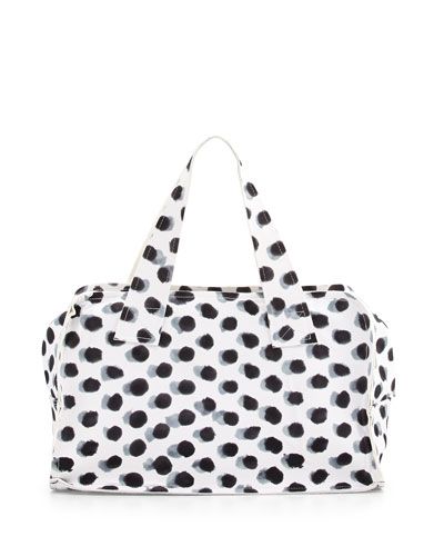 Large Rectangular Dotted Tote Bag