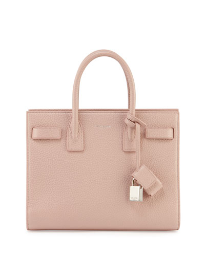 Saint Laurent Sac de Jour Small Carryall Bag, Pale Blush