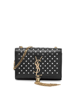 Monogram Small Studded Shoulder Bag